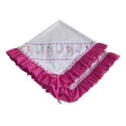 Manta Amigas Bailarinas Pink