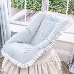 Capa de Bebê Conforto Anjo Azul
