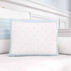Almofada Estampada Estrelinhas Azul