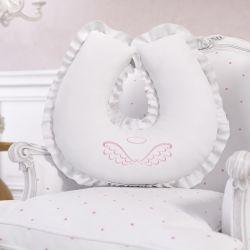 Almofada Amamentação Anjo Rosa