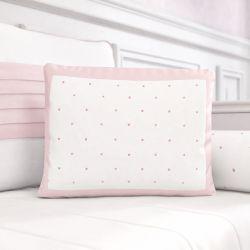Almofada Estampada Estrelinhas Rosa