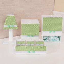Kit Higiene Poá Verde