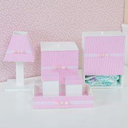 Kit Higiene Klin Rosa