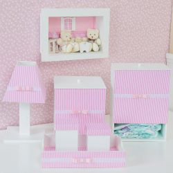 Kit Higiene Completo Klin Rosa