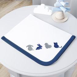 Cueiro Amiguinhos Azul Marinho