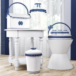 Kit Higiene Amiguinhos Azul Marinho