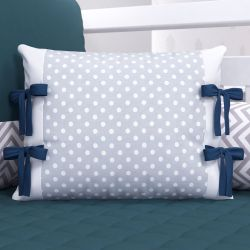 Almofada Laços Amiguinhos Azul Marinho 45cm