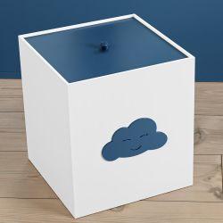 Lixeira Nuvem Azul Marinho