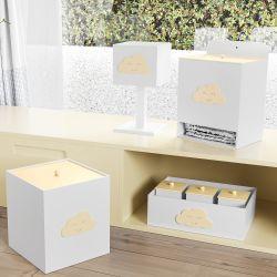 Kit Higiene Nuvem Amarela