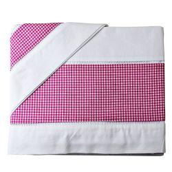 Jogo de Lençol Xadrez Pink