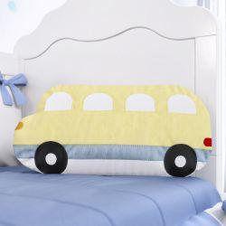 Almofada Ônibus Amarela