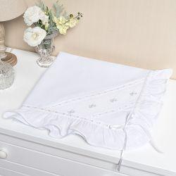 Manta Laço Branco 86cm