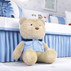 Ursinho Bebê com Capuz 40cm