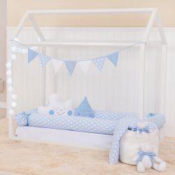 Kit Montessoriano Losango Azul Bebê