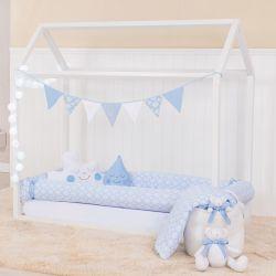 Kit Montessoriano Arabesco Azul Bebê