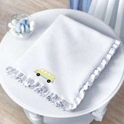 Cobertor Ônibus Ursinho Bebê