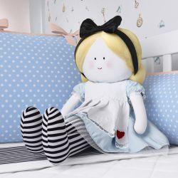 Boneca de Pano Alice e o Coelho G