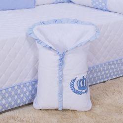 Porta Bebê Aconchego Imperial Azul
