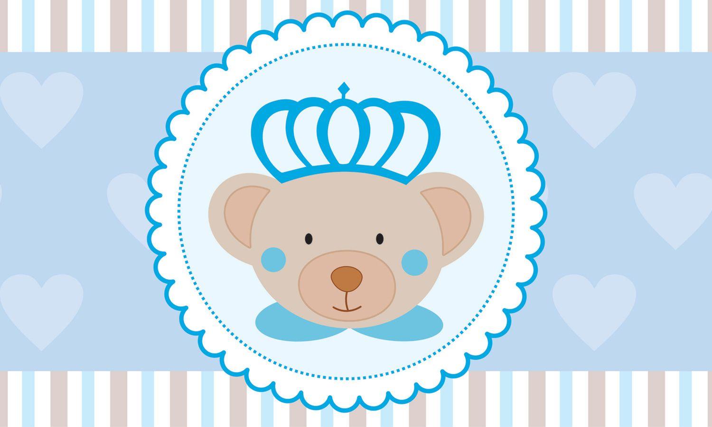Faixa Adesiva De Parede Urso Principe Grao De Gente