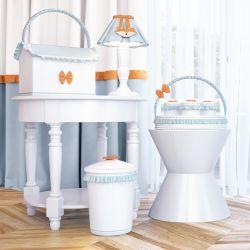 Kit Higiene Raposinha Laranja