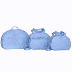 Conjunto de Bolsas Maternidade Florença Azul Bebê