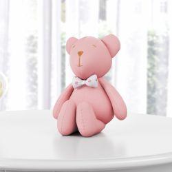Ursa Rosé com Gravata 15cm