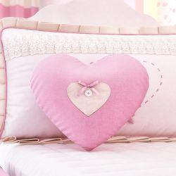 Almofada Coraçãozinho com Botão