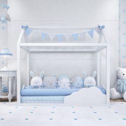 Quarto de Bebê Montessoriano Amiguinhos