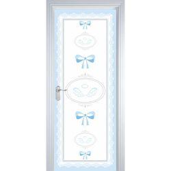 Adesivo de Porta Anjo Azul