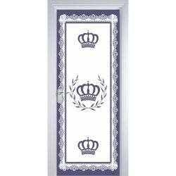 Adesivo de Porta Majestade Azul Marinho