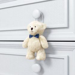 Urso Petit Enfeite para Puxador Teddy Realeza