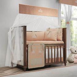 Quarto de Bebê Princesa Rosé Premium 20 Peças