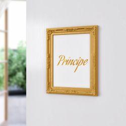 Quadro Provençal Príncipe Dourado 33cm
