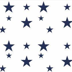 Adesivo de Parede Estrelas Azul Marinho