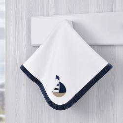 Cueiro Urso Marinheiro Azul
