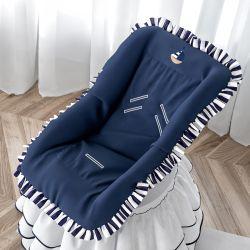 Capa de Bebê Conforto Urso Marinheiro Azul