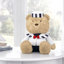 Urso Marinheiro Azul 40cm