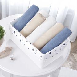 Cesto Organizador Estrelinhas Azul Marinho 36cm