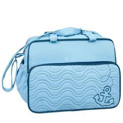 Bolsa Maternidade Marinheiro Azul 37cm