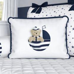 Almofada Urso Marinheiro Azul