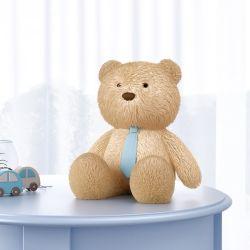 Urso com Gravata Azul 40cm