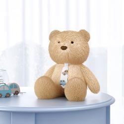 Urso com Gravata Carrinhos 40cm
