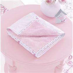 Cobertor Patchwork Rosa