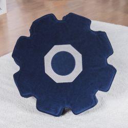 Mini Puff Engrenagem Azul Marinho