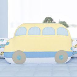 Almofada Ônibus Amarelo 45cm