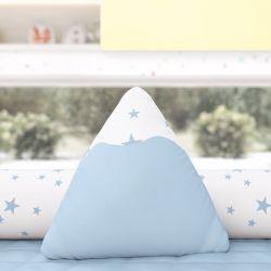 Almofada Montanha Estrelinhas Azul