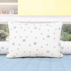 Almofada Estrelinhas Azul