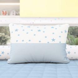 Almofada Estrelinhas Azul 43cm