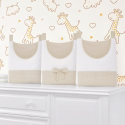Porta Fraldas Varão Girafinha Clássica