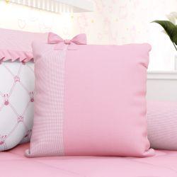 Almofada Laço Girafinha Clássica Rosa